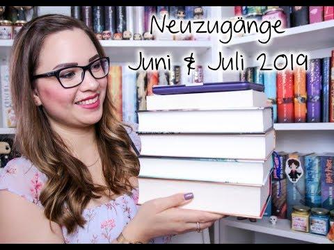 Bücher Haul |Neuzugänge Juni & Juli 2019