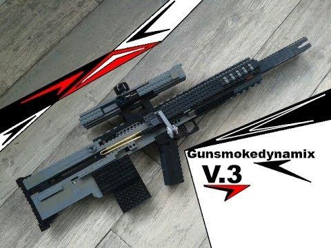 working lego bolt action sniper rifle v3