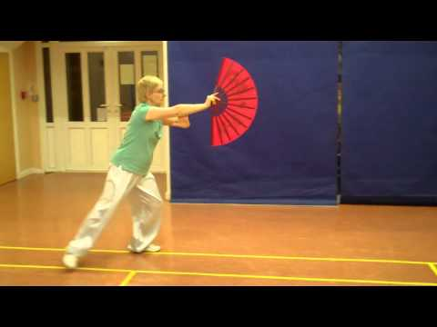 Tai Chi Fan chen style beginners form