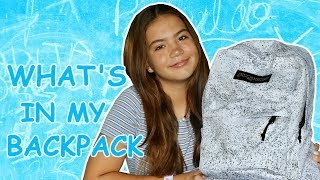 "WHAT'S IN MY BACKPACK "" 2019 "" 