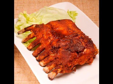 Costillas de cerdo BBQ - BBQ Pork Ribs