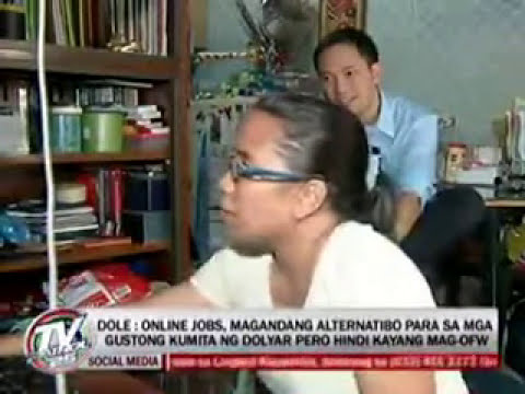 OnlineJobWorldwide.com Totoong Trabaho sa Internet Work at Home Featured in TV Patrol