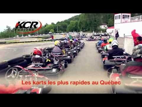Kcr karting qu bec piste de karting go kart track in for Go kart interieur quebec