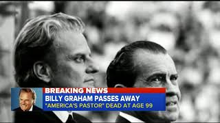 Evangelist Billy Graham has died at the age of 99 | Special Report