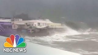Typhoon Hato Slams Hong Kong With 95 MPH Winds | NBC News