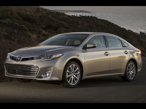 2015 Toyota Avalon Touring Edition Start Up and Review 3.5 L V6