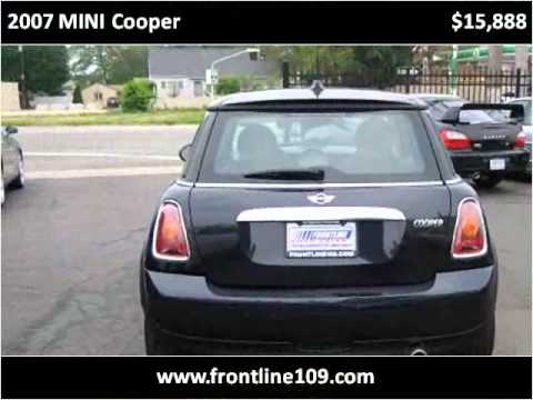 2007 MINI Cooper Used Cars W Babylon NY