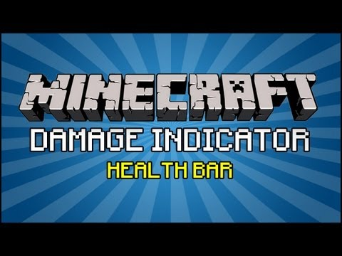 Minecraft Mod - Damage Indicator Mod