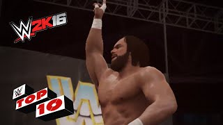 Classic Finishing Moves: WWE 2K16 Top 10