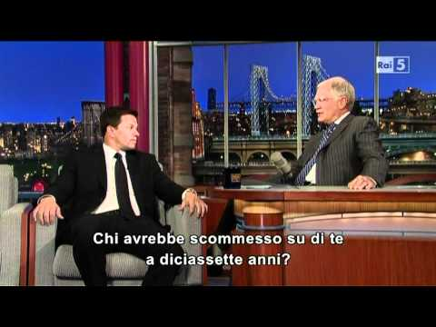 Mark Wahlberg al David Letterman (11-06-2012)
