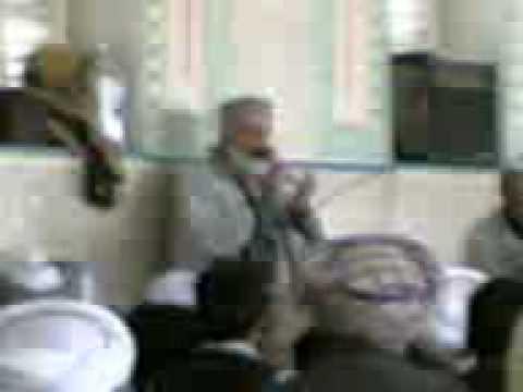 MIR FAKHRUDDIN AGHA DUA IN MAZHAAR SHAREEF
