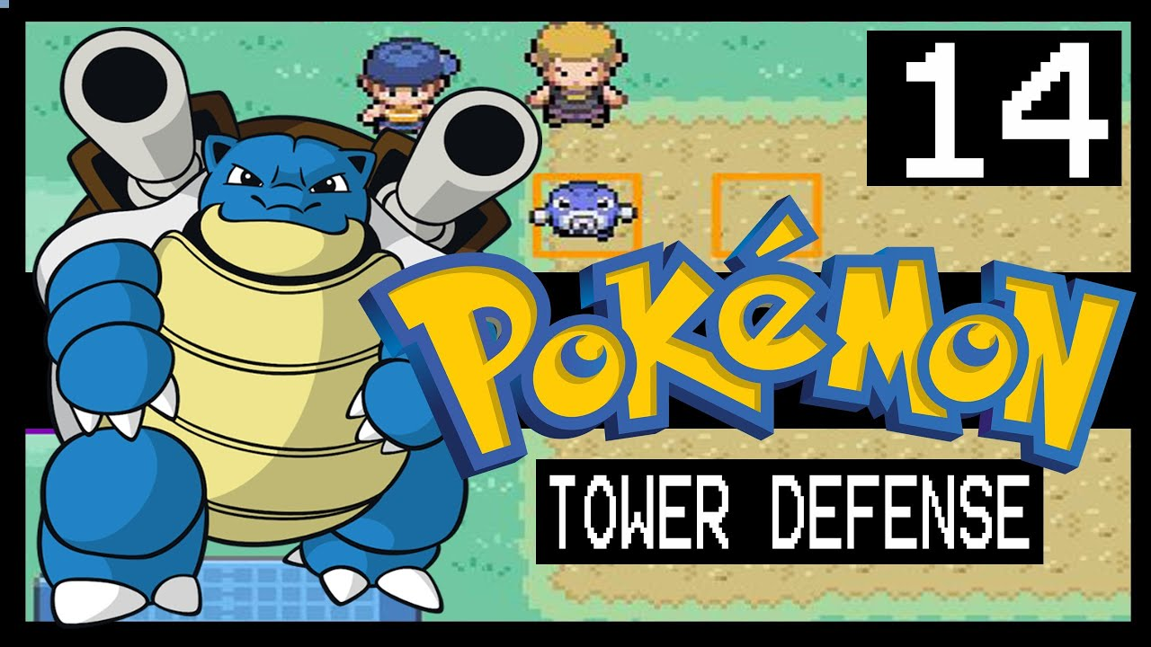 POKEMON TOWER DEFENSE WALKTHROUGH - VERMILION CITY - YouTube