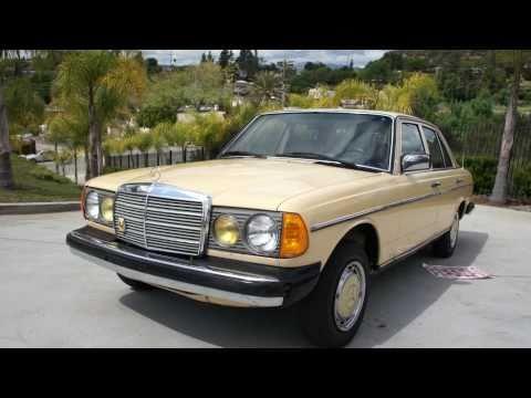 1981 Mercedes Benz w123 240D Diesel 2 Owner
