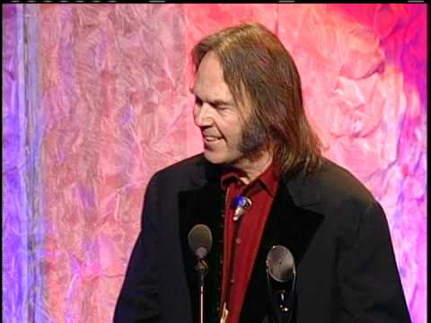 Eddie Vedder Inducts Neil Young into the Rock and Roll Hall of Fame