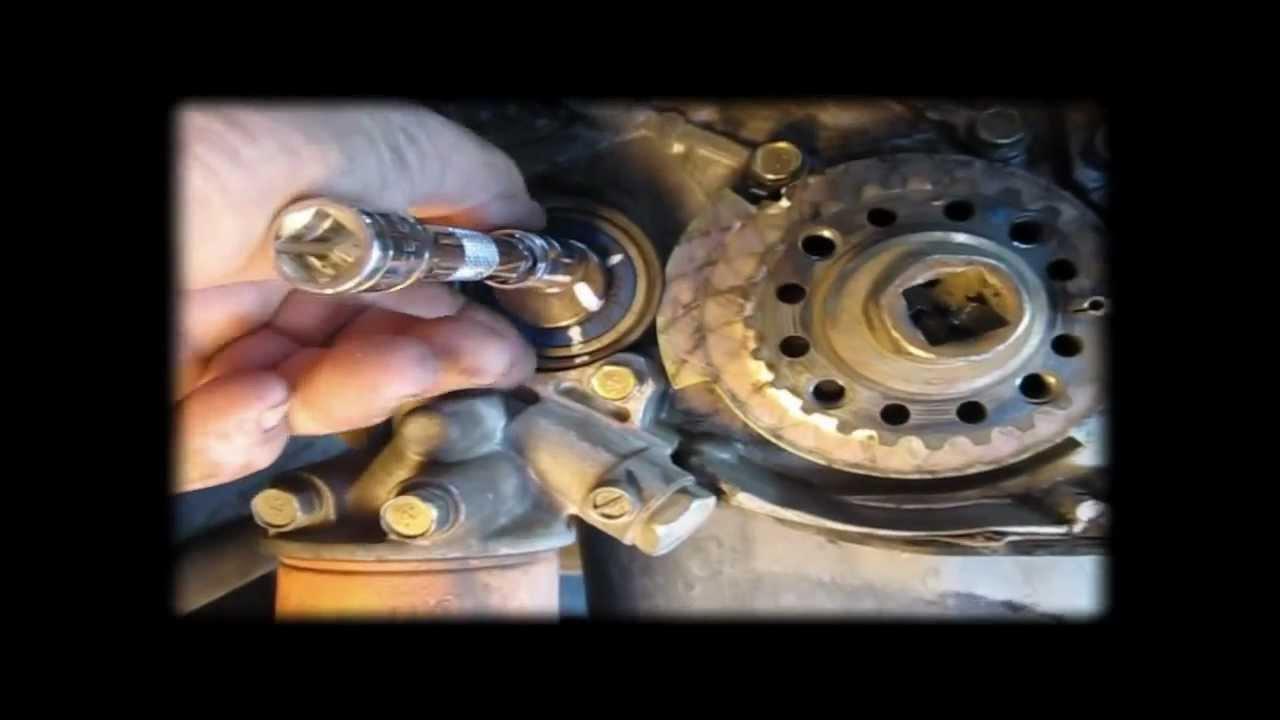 Part 1 2003 Mitsubishi Galant 2 4 L Timing Belt
