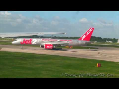 Manchester Airport Take off & Landing