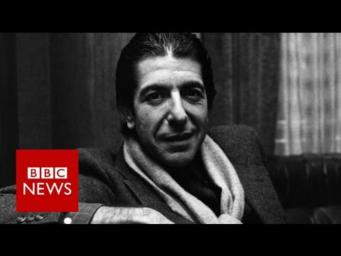 "Leonard Cohen: ""I never thought I could sing"" BBC News"