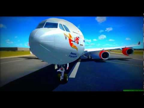 An FSX Movie 3D [HD] I London Heathrow I The Busiest Airport in the World