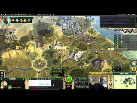 Civilization 5 Multiplayer 150: Assyria [2/4] ( BNW 8 Player Free For All) Gameplay/Commentary