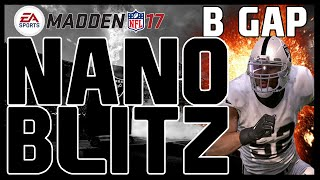 Madden 17: BEST UNSTOPPABLE DEFENSIVE BLITZ! Nickel 2-4-5 - Buck Slant 3! 4 Man B-Gap! Nano Blitz