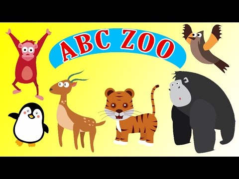 ABC Phonics Zoo Song | Alphabets Animals Song | ABC Song For Kids And Children By Baby Time