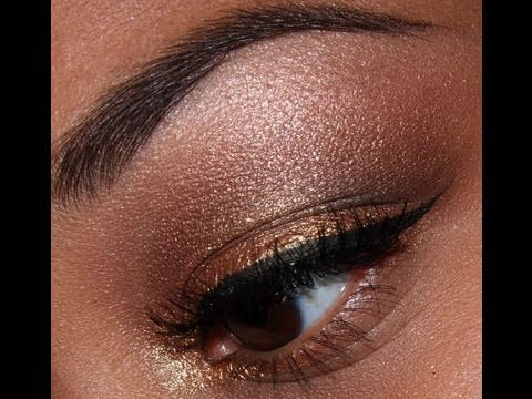 Super Simple Golden Eyes Tutorial!!!