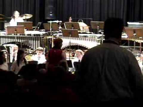 Tunstall High School Band Christmas Concert 2006