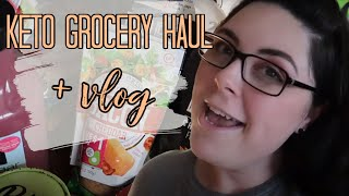 GROCERY HAUL & ALL THE MEATS + KETO VLOG