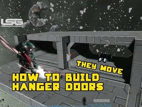 space engineers how to make blast doors