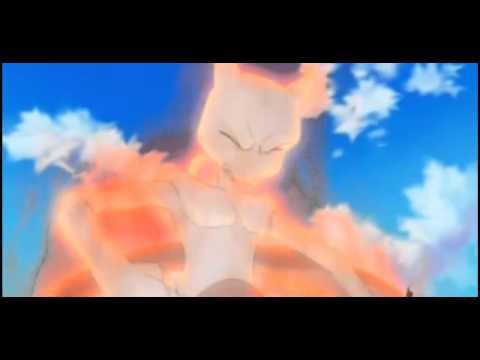 Pokémon 16th Movie - Final Scene - Pikachu Kills Mewtwo & Mew!! video