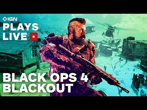 Call of Duty Black Ops 4: Blackout Beta: Reactions From a PUBG Fan - IGN Plays Live