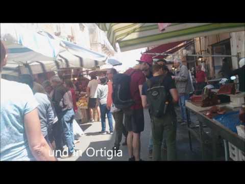 Sizilien 2016 mit dem Wohnmobil organisiert von  SIWA TOURS und Petra