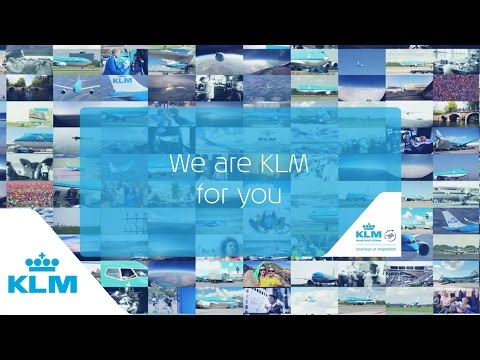We Are KLM For You – KLM 95 years