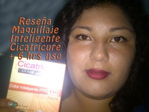 Reseña Cicatricure Maquillaje Inteligente FPS 110 + 6 hrs de uso