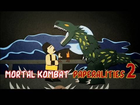 Mortal Kombat 2 Paperalities