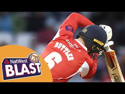Jos Buttler Stars In Do Or Die Game - Lancashire v Worcestershire NatWest T20 Blast 2017