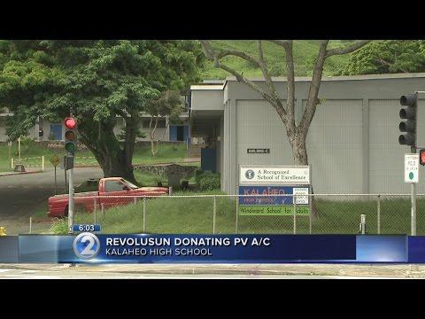 RevoluSun to donate solar-powered air conditioner to Kalaheo