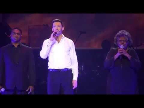Hugh Jackman - Somewhere Over The Rainbow (Broadway To Oz) 26/11/15 Rod Laver Arena