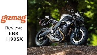 EBR 1190SX review - the world