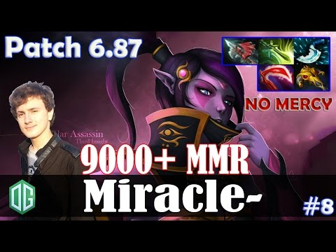 Miracle- Templar Assassin MID | NO MERCY | Dota 2 Pro MMR Gameplay #8