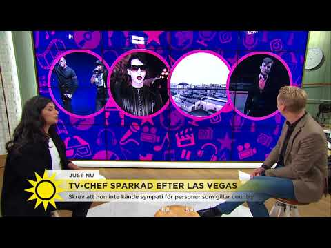 """Tv-chef sparkad efter Las Vegas: """"Skrev att hon inte känner sympati med offren"""" - Nyhetsmorgon (TV4)"""