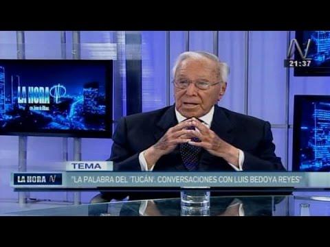 Luis Bedoya Reyes habla de Keiko Fujimori y Pedro Pablo Kuczynski