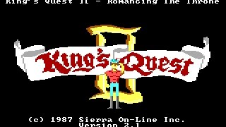 King's Quest II - Romancing the Throne (Original) - E1 - Magic Doors (Walkthrough with Commentary)