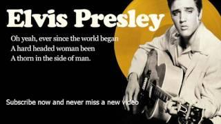 Watch Elvis Presley Hard Headed Woman video