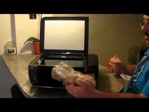 Canon PIXMA MP495 Printer Unboxing