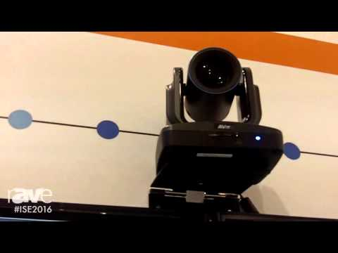 ISE 2016: AVer Information Showcases EVC150 Full HD Video Conferencing System