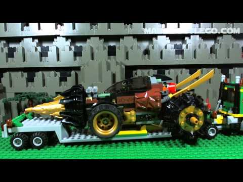 LEGO NINJAGO Coles Earth Driller 70502