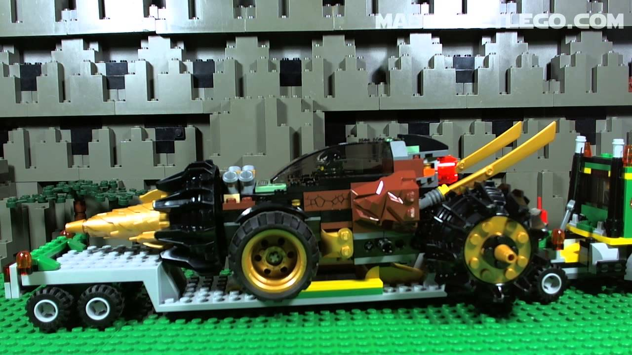 LEGO NINJAGO Coles Earth Driller 70502 - YouTube