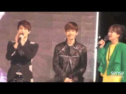 Baekhyun singing acapella