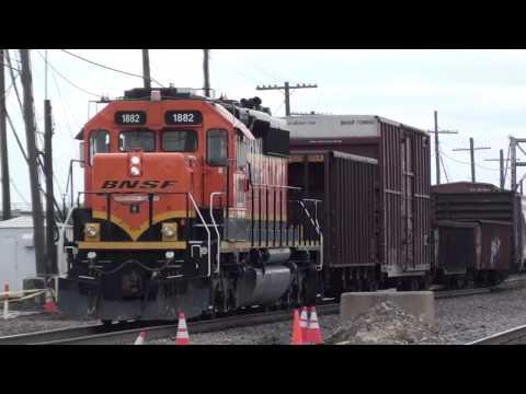 Rails Chicago Visits Galesburg 2012- Pt. 2: Peck Park, Galesburg Yard & Amtrak Station